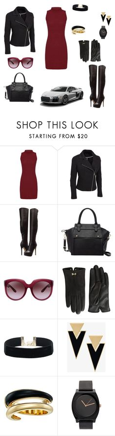 """Untitled #17"" by aytac-ahmedli ❤ liked on Polyvore featuring Chinese Laundry, Pink Haley, Bottega Veneta, Ted Baker, Yves Saint Laurent, Michael Kors and plus size clothing"