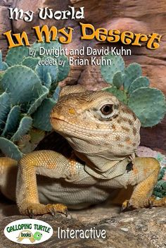 iTunes e-Book - My World In My Desert can be purchased on your itunes account on your iPad. Visit the animals that live in the desert...includes sounds the animals make, slide shows and pop ups for additional information.