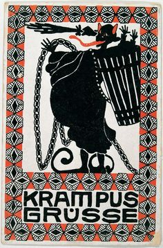 Krampus Grüsse, © IMAGNO/Austrian Archives
