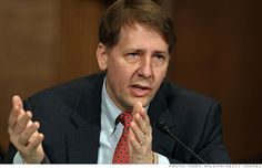 Richard Cordray, head of the Consumer Financial Protection Bureau, announced the creation of a new database for credit card complaints.