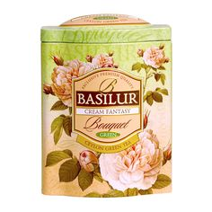 Basilur Tea Cream Fantasy Loose Leaf Green Tea | RedMart