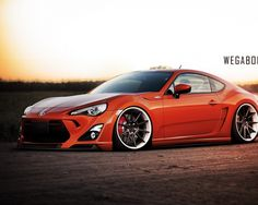 Low and Mean Toyota GT 86 Shines at Sunset Toyota 86, Toyota Cars, Subaru, Tuner Cars, Jdm Cars, My Dream Car, Dream Cars, Street Racing Cars, Japanese Sports Cars
