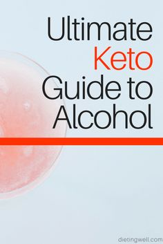 Do you want to start a low carb or ketogenic diet but don't want to completely give up alcohol?