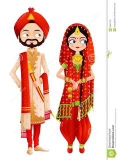 Illustration about Easy to edit vector illustration of Sikh wedding couple. Illustration of ethnic, cultural, design - 30667129 couple punjabi Sikh Wedding Couple stock vector. Illustration of bridal - 30667129 couple cartoon Wedding Couple Cartoon, Indian Wedding Couple, Indian Wedding Cards, Sikh Wedding, Wedding Art, Wedding Couples, Hindu Weddings, Wedding Events, Wedding Ideas