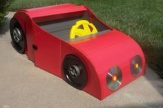 How to Make a Car From a Cardboard Box
