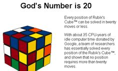 God number in Rubik's Cube