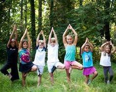kid friendly nature yoga