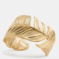 Coach Feather Cuff on shopstyle.com