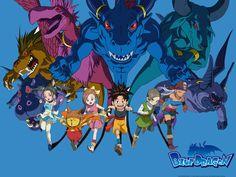 Blue Dragon est un jeu vidéo de rôle sorti sur Xbox 360 en 2006 dans l'archipel japonais, le 24 août 2007 en Europe et 4 jours plus tard aux États-Unis. Il a été développé par Mistwalker et édité par Microsoft Studios, sous la responsabilité de Hironobu Sakaguchi. Akira Toriyama a réalisé le character design.  Une série d'animation de 51 épisodes a été produite et diffusée à partir du 7 avril 2007 sur TV Tokyo, utilisant des voix différentes et des histoires non reliées au jeu vidéo.