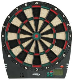 Halex Impact Electronic Dartboard by Halex. $39.99. Amazon.com                The Halex Impact electronic dartboard is a great choice for your downstairs rec room or upstairs den. The board boasts a total of 21 different games and 65 level variations--enough for all but the most demanding darts player--with an LCD display helping keep track of the bar-style cricket scoring. The board also offers in-game feedback with voice commands and sound effects, helping keep the action live...