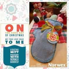 The #holiday countdown has begun! Now more than ever, the people on your #giftlist could use practical #presents. The antibacterial #DustingMitts make a fantastic #gift, as they are ideal for quick, chemical-free dusting throughout the house!