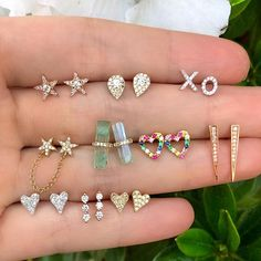 Gold Heart Stud Earrings/ Minimalist Earrings/ Heart Earrings/ Rose Gold Earrings/ Gift for Her/ Dainty Earrings/ Tiny Gold Heart Studs/ Soul mates aren't limited to what we've seen in storybooks. Ear Jewelry, Cute Jewelry, Bridal Jewelry, Jewelery, Stylish Jewelry, Body Jewelry, Rose Gold Earrings, Heart Earrings, Stud Earrings