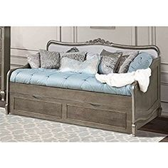 Image result for glamorous daybed silver