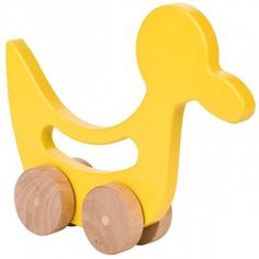 American Made Manny and Simon Duck Push Toy from Lila Mae via USALoveList.com