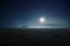 Lunar effect on Behance