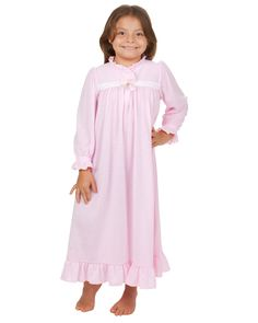 Laura Dare Thank Heaven For Little Girls Long Sleeve Night Gown