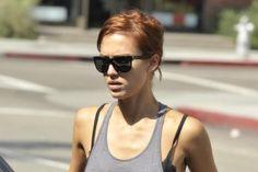 Jessica Alba's Red Hair