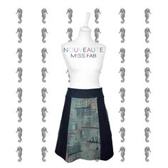 Nouveau - la jupe personnalisable - Miss Fab - Fabienne Dimanov Paris Waist Skirt, High Waisted Skirt, Paris, Collection, Skirts, Fashion, Moda, High Waist Skirt, Skirt