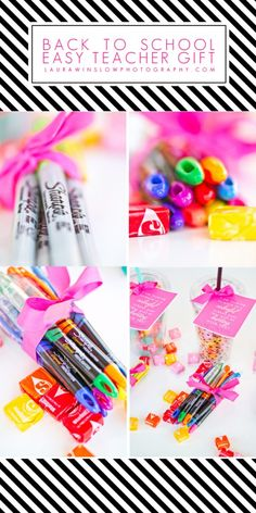 Easy and Inexpensive Back To School Teacher Gift Idea