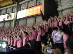 """Anti-Bullying Pink Shirt Day / """"Acceptance"""" Flash Mob at the Vancouver Giants Hockey Game, 2013 - YouTube"""