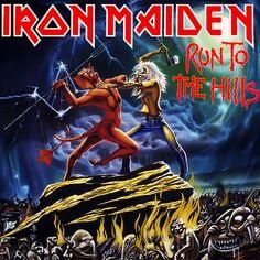 SINGLE - RUN TO THE HILLS 12 de Fevereiro de 1982