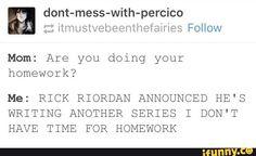percyjackson, heroesofolympus, trialsofapollo, rickriordan, tumblr
