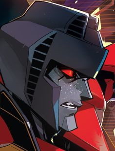 Starscream with freckles.