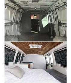 Zach Both criou um lar e espaço de trabalho dentro do veículo, para poder viajar em busca de histórias