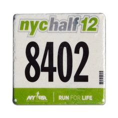 Your Race Bib on Your Coaster BibCOASTERS - Marble Stone Coaster $22 for 4 coasters