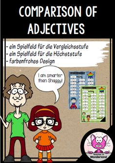 comparison of adjectives: game boards
