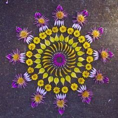 Mandalas Ideas: Mandala flowers