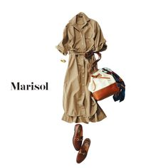 足長バギーデニムコーデからロープラシャツコーデまで Marisol ONLINE 女っぷり上々!40代をもっとキレイに。