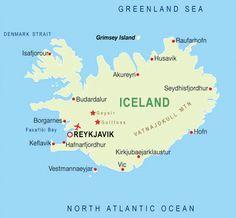 Image result for map of reykjavik