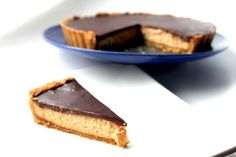 Chocolate Peanut Butter Tart (Queen of Tarts) by The Sweet Art