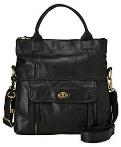 Fossil: Stanton Leather Tote $238.00