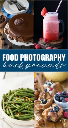Deciding what background to use in your food photos doesn't have to be hard. Try these 12 food photography backgrounds to take your photos up a notch.