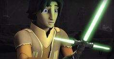 Ezra, Kanan and Ahsoka's exploration of an abandoned Jedi temple is cut short in this new clip from the Season 2 finale.