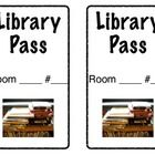 Here is a template for LIBRARY PASSES. As an elementary librarian, I find it helpful to have kids come to library with a pass...that way I know the...