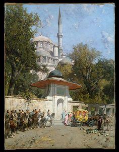 Alberto Pasini-A Mosque-1782