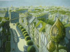 vegetal city by Luc Schuiten, Belgium
