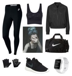 """""""Sans titre #7"""" by hannangels on Polyvore featuring mode, NIKE, Topshop et Casall"""