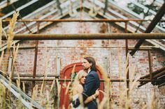 Rustic Greenhouse Wedding | Benj Haisch Photography