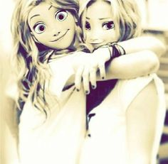 Abrazo *_* #sisters forever anna20@arendell
