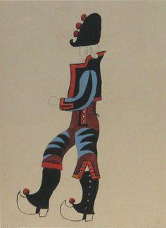 Pablo Picasso. Le Tricorne. 1920