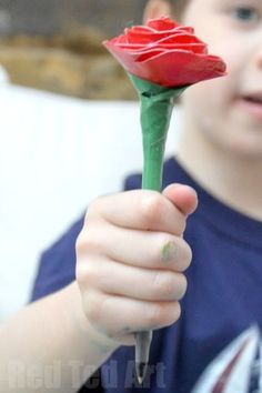 Duct Tape Rose Pens