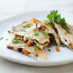 Butternut Squash, Sun-Dried Tomato, and Goat Cheese Quesadillas | Food & Wine