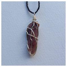 lithium quartz crystal necklace