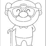 Coloring Sheets, Coloring Pages, Grandparents Day, Creative Art, Smurfs, Stampin Up, Doodles, Greeting Cards, Handarbeit