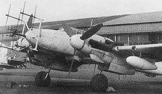 Me 110 German night fighter with radar