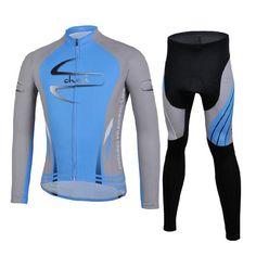 Bicicleta de la moto de pantalones del jersey del pleito que va en bicicleta ropa de deporte de la camisa de la manga larga